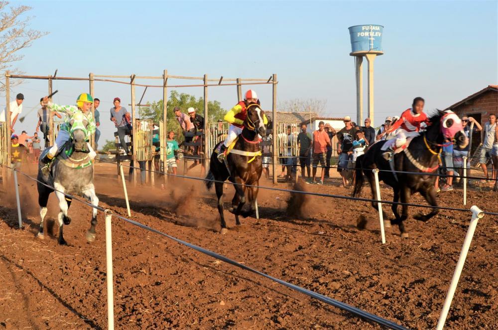 2ª corrida de cavalos da Fazendo Pião (Imagem: Valdomiro Gomes/CANAL 121)