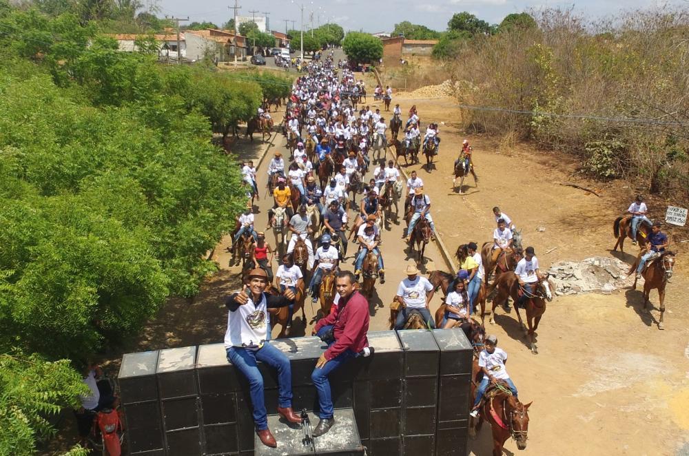Cavalgadas dos Amigos em Hugo Napoleão (Imagem: Valdomiro Gomes/CANAL 121)