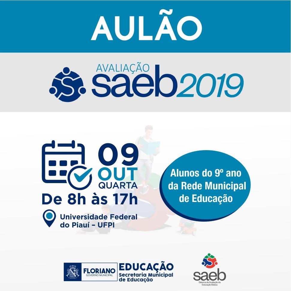 Avaliação Saeb 2019