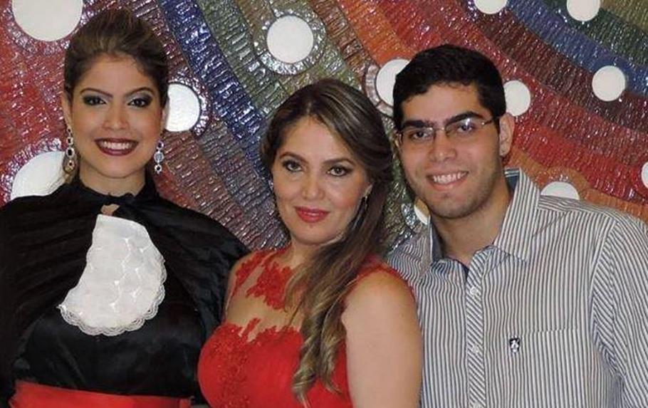 Thamyris Andrade, Santana Andrade e Thiago Andrade (Imagem: Divulgação)