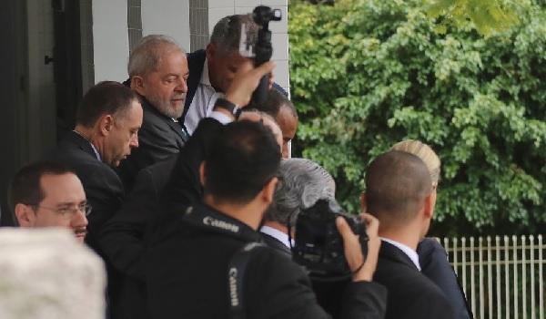 Lula presta depoimento a Sérgio Moro na Justiça Federal, em Curitiba