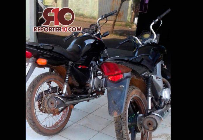 Polícia Militar de Piripiri recupera duas motos furtadas