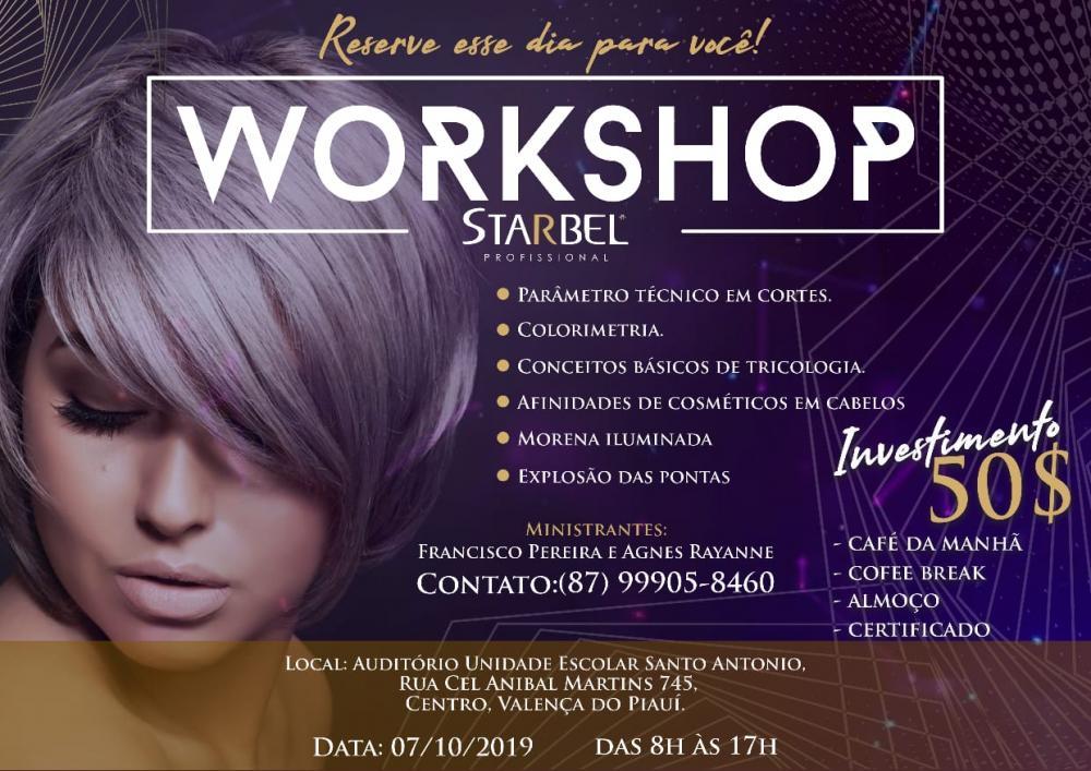 Workshop StarBel foi um grande Sucesso em Valença do Piauí