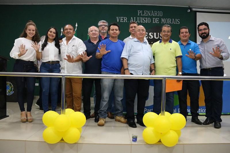 PSD realiza encontro e recebe mais de 100 filiações em Água Branca