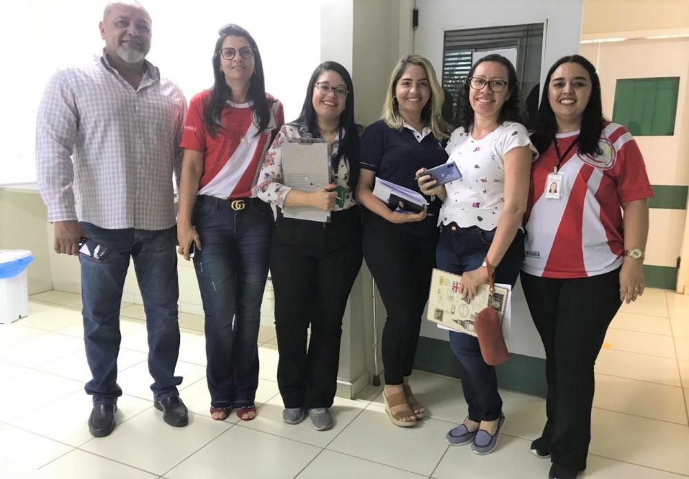 Hospital Municipal de Água Branca recebe visita técnica da RUE - Rede de Urgência e Emergência