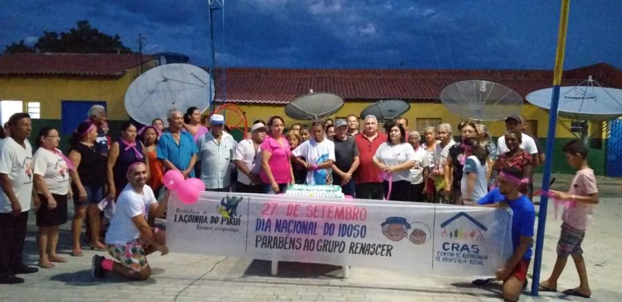 Prefeitura de Lagoinha do Piauí realiza evento em alusão ao Outubro Rosa e Dia do Idoso