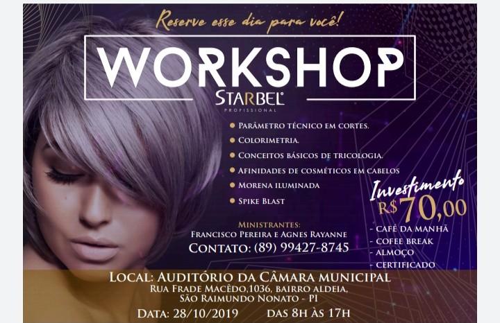 Chegou a vez de São Raimundo Nonato receber o mega Workshop da Starbel