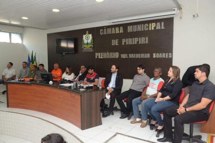 Audiência Pública define regras para realização de festas em Brasileira e Piripiri