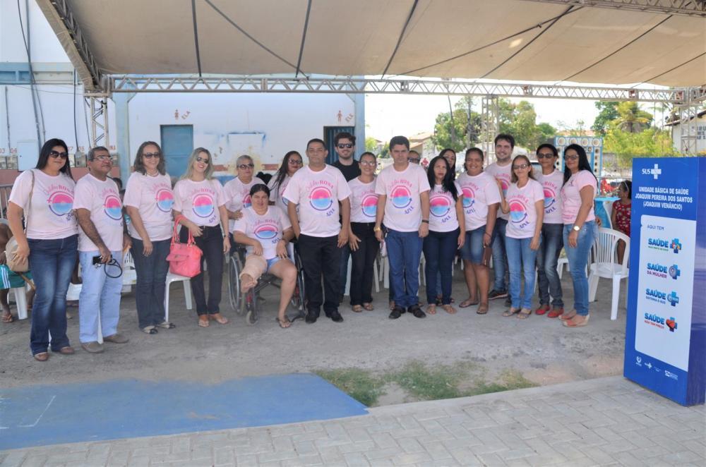 Campanha do Outubro Rosa (Imagem: Valdomiro Gomes/CANAL 121)