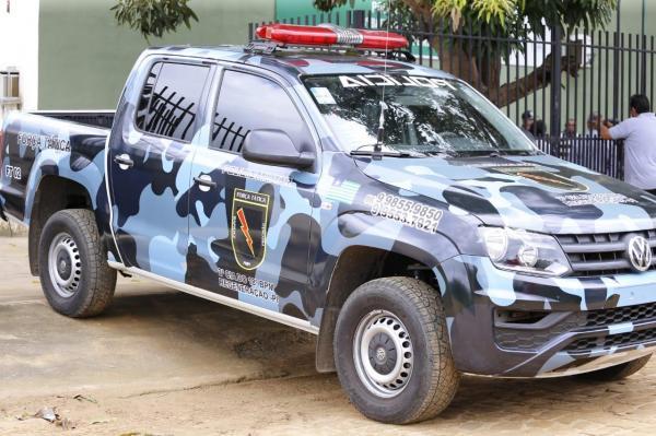 Força Tática cumpre mandado e prende condenado pelo crime de tráfico de drogas no centro de Regeneração