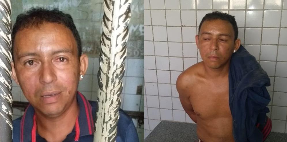Homem é preso acusado de matar o sogro em Teresina (Imagem: Divulgação)