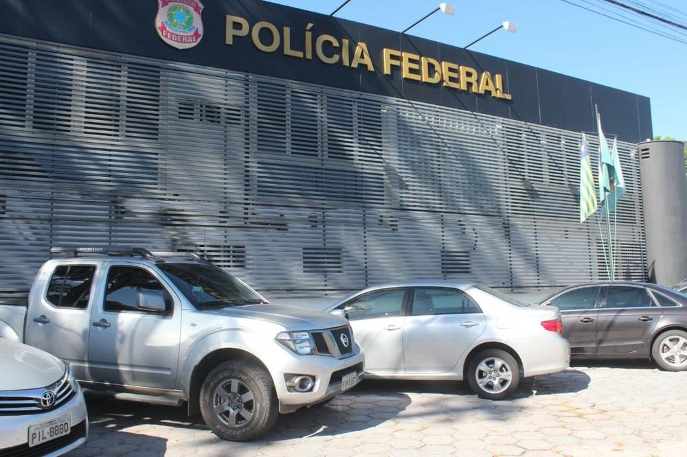 Polícia Federal fez prisões no Piauí e no Distrito Federal — Foto: Catarina Costa / G1