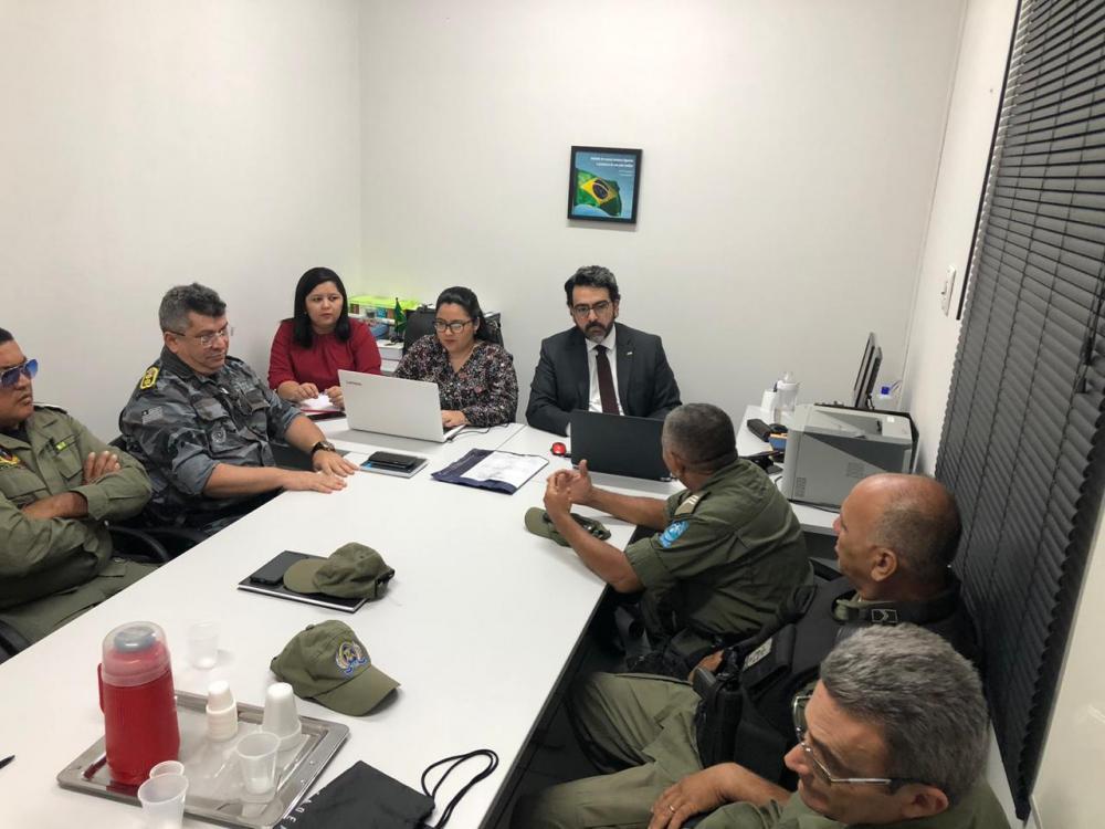 MPPI promove reunião de integração com as Polícias Civil e Militar na comarca de Barro Duro