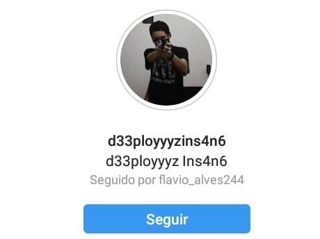 Perfil do usuário no Instagram (Imagem: Divulgação)