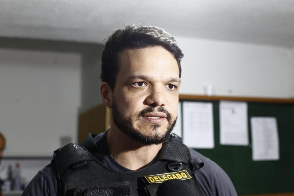 Delegado da operação (Imagem: Divulgação)