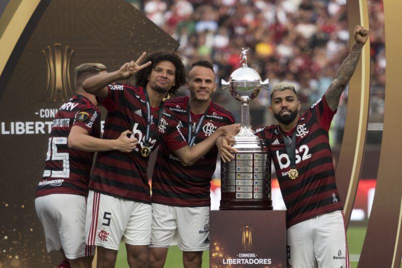 Lateral Renê se torna o 1º piauiense a conquistar a Libertadores da América