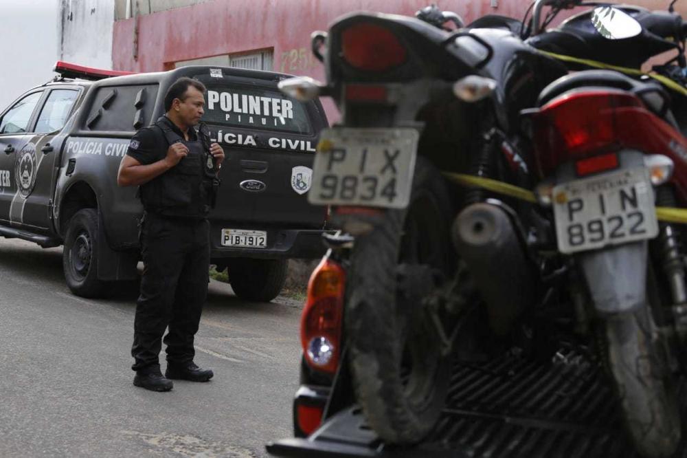 Imagem da Operação Apocalipse (Foto: Divulgação SSP-PI)