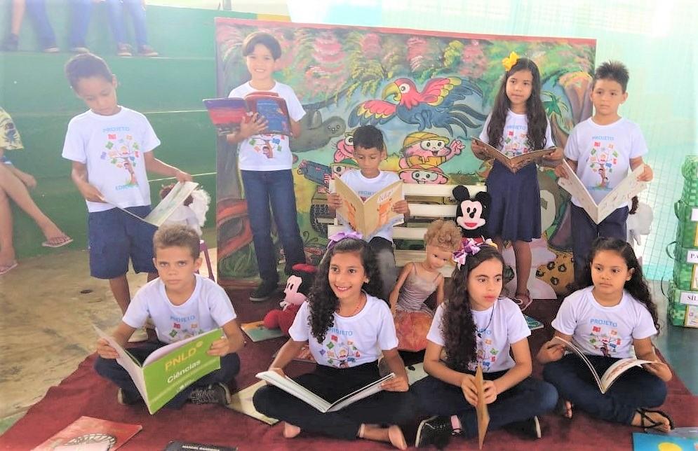 Alunos de escola da rede municipal de ensino de Angical do Piauí participam do projeto Soletrando