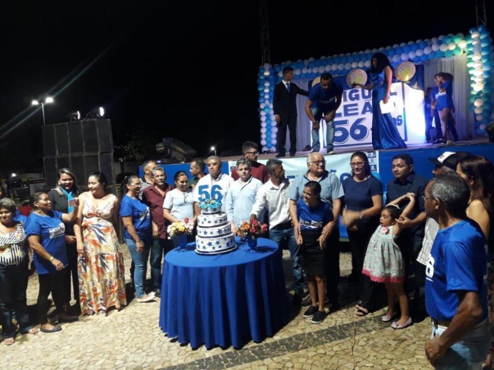 Solenidade de comemoração do aniversário de Miguel Leão (Imagem: Cleisson Batista)