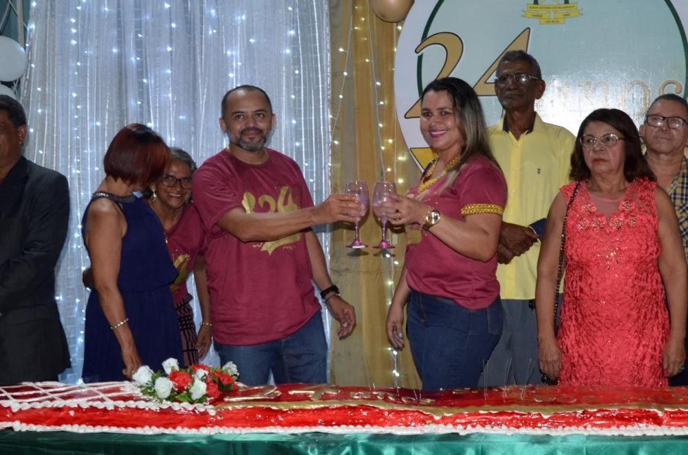 Solenidade em comemoração ao aniversário de 24 anos de Santo Antônio dos Milagres (Imagem: Valdomiro Gomes/CANAL 121)