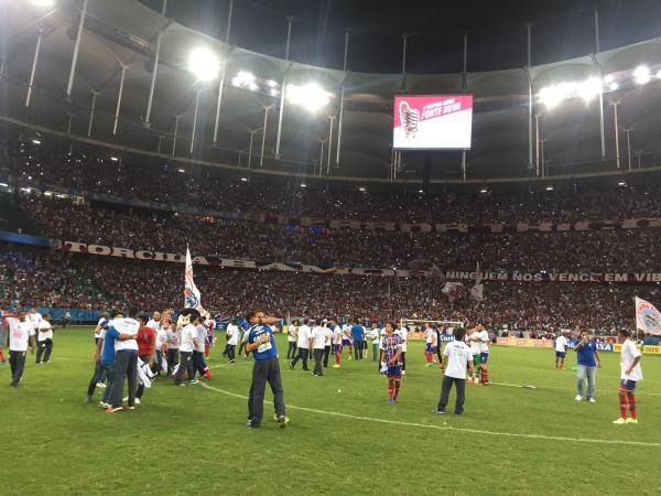 Bahia vence o Sport por 1 a 0 e conquista o título da Copa do Nordeste