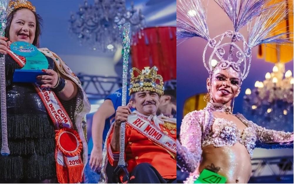 Inscrições abertas para o concurso Rei e Rainha com deficiência e Rainha Trans 2020 — Foto: Divulgação/ FMC