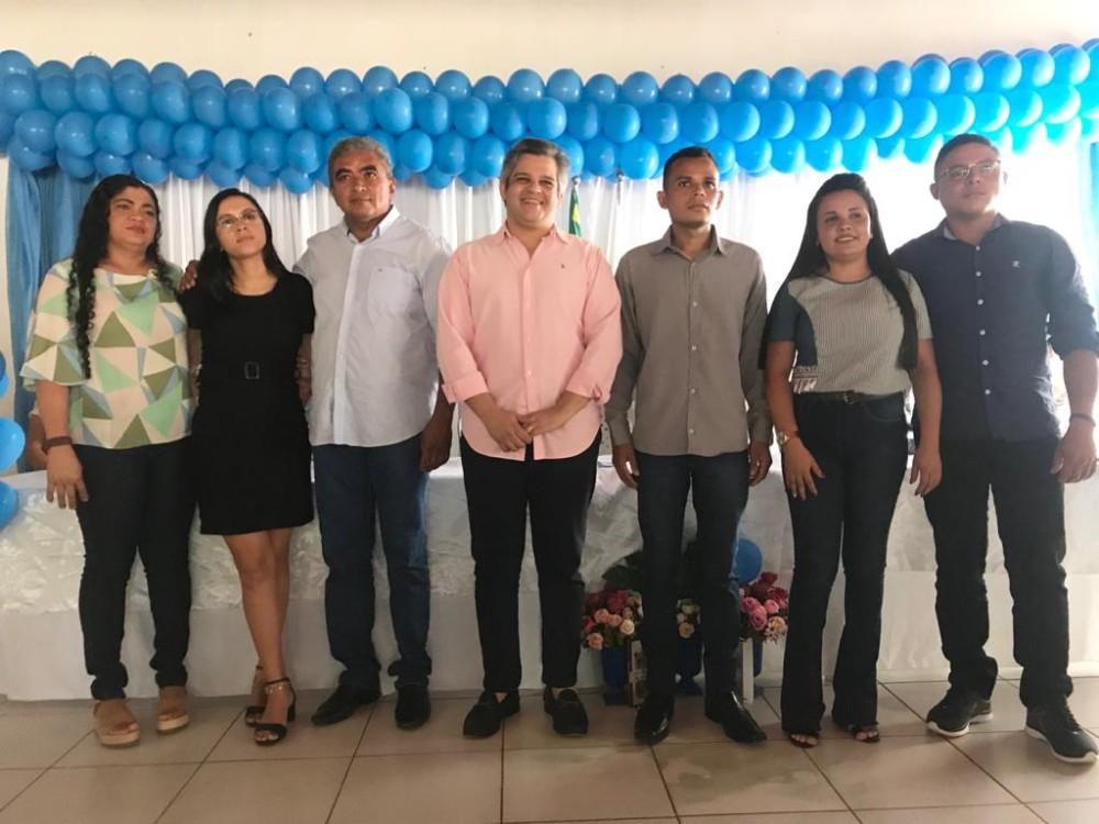 Solenidade de posse dos novos membros do Conselho Tutelar de Miguel Leão (Imagem: Cleisson Batista)