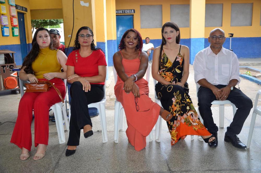 Conselheiros empossados (Imagem: Valdomiro Gomes/CANAL 121)
