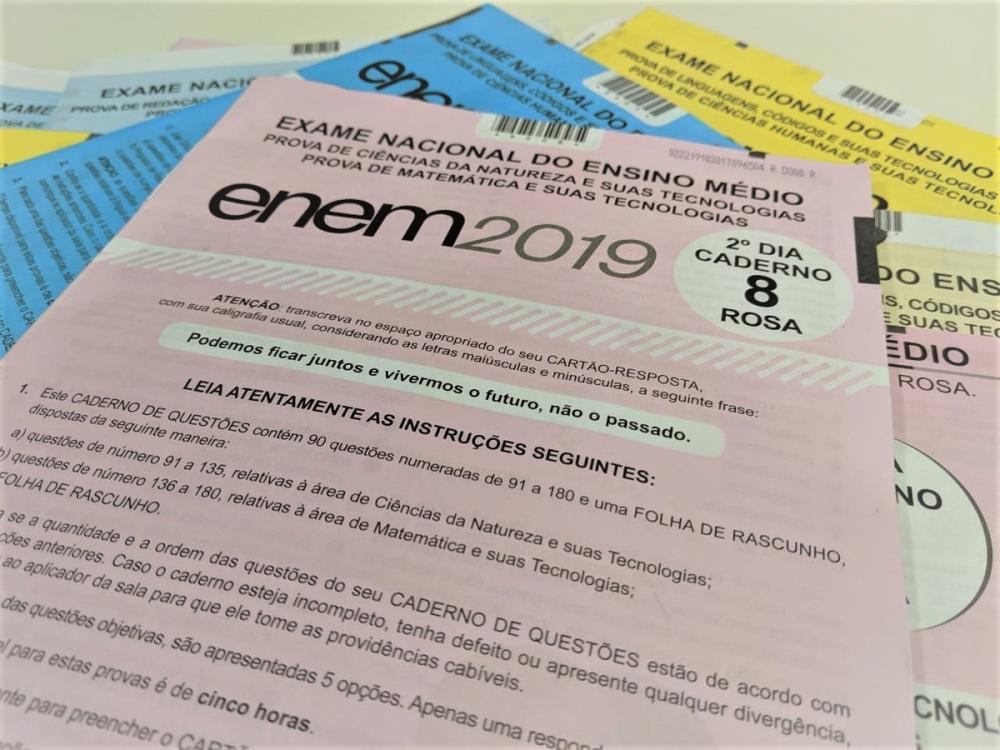 Inep divulga notas do Exame Nacional do Ensino Médio