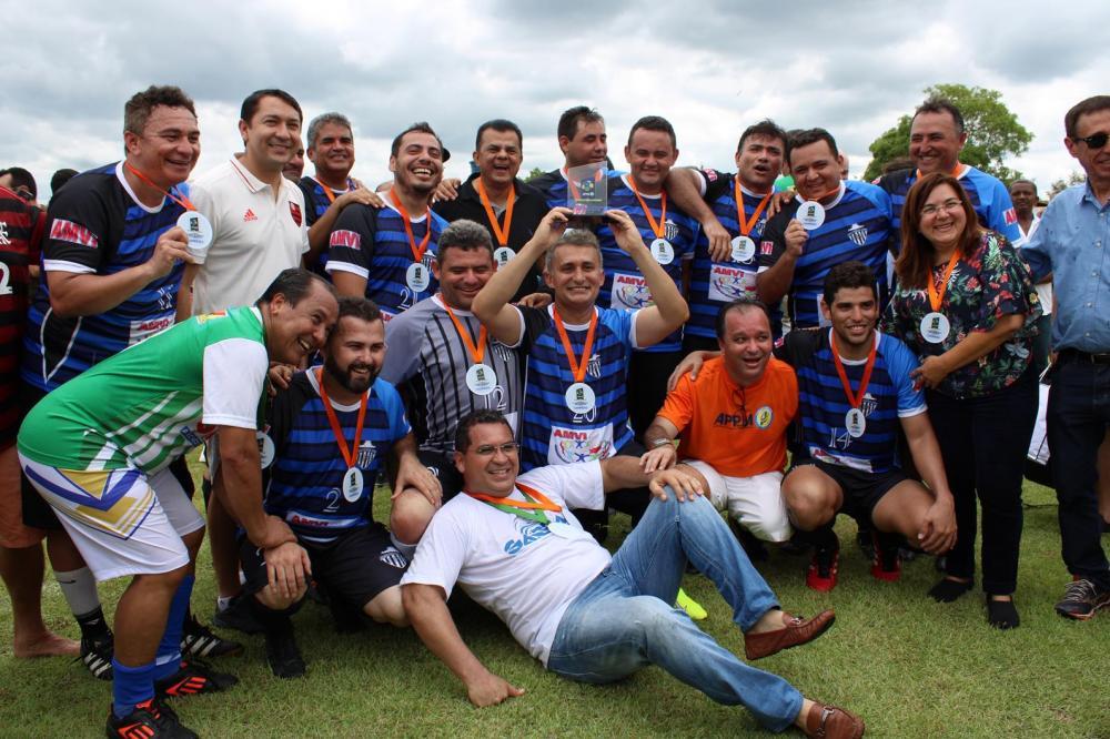 Confraternização em comemoração aos 41 anos da APPM (Imagem: Valdomiro Gomes/CANAL 121)