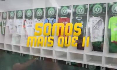 Chapecoense publica vídeo em agradecemento aos clubes Brasileiros