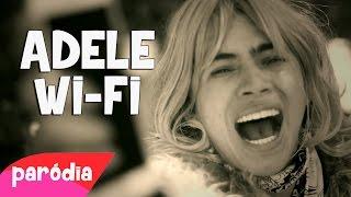 QUAL É A SENHA DO WIFI - Paródia Adele - Hello
