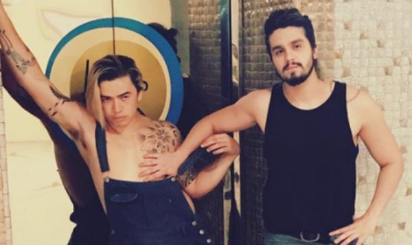 Novo clip - Luan Santana e Whindersson Nunes - Acordando o Prédio